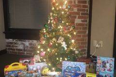 Anova Gives Back: Toys for Tots Toy Drive