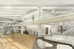 COB Renovation Rendering - Main Lobby
